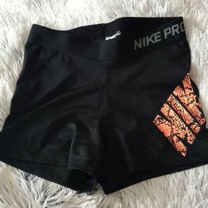 "Nike Pro 3"" Seam Spandex"
